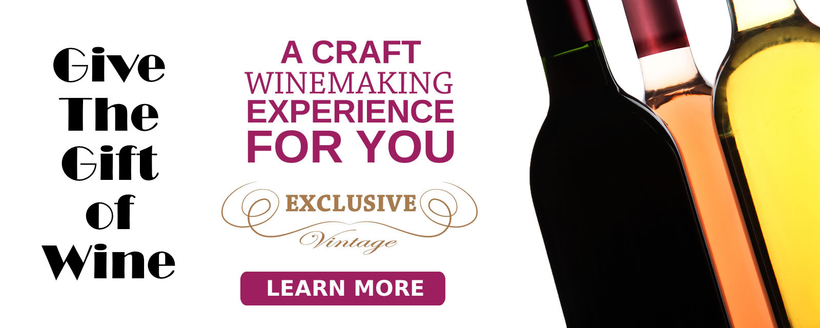 Give a Craft Winemaking Experience this Christmas