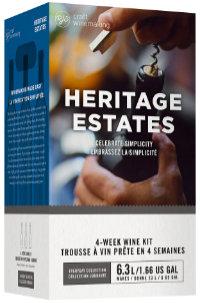 Heritage Estates wine kit